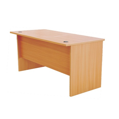 ERGOSIT Office Desk [ODB 1275] - Beech - Meja Kantor